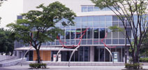桶川市民ホール外観